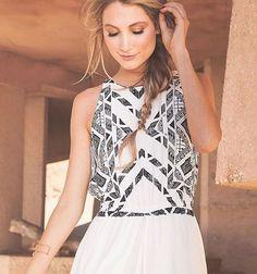 7a171973e7a Ella Moss Hopelux Natural Printed Romper Maxi Dress