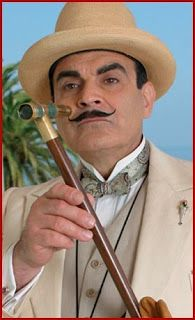 """""""It is I, Hercule Poirot!""""  One of my favorite tv seriesis Agatha Christie's Poirot. British actorDavidSuchet was a face of the ..."""