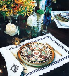 Tory's Imari porcelain plate   InStyle