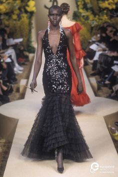 Yves Saint Laurent, Spring-Summer 2000, Couture on www.europeanafashion.eu