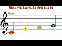 When the Saints for Boomwhackers - YouTube