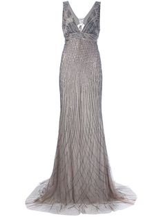 Roberto Cavalli Sequin Maxi Dress - Julian Fashion - farfetch.com