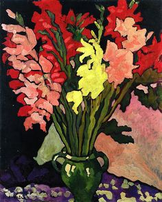 Bouquet of Gladioli, by Louis Valtat (French, 1869–1952).