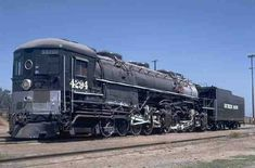 The very last Cab Forward locomotive manufactured was this very AC 12 number 4294