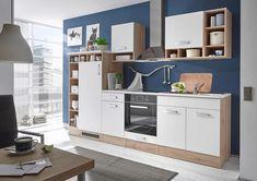 Toto zboží je k dispozici pouze ONLINE. Kuchyňský blok Welcome Madeira v dekoru San Remo v kombinaci s bílou matnou se hodí do každého interiéru. Blok o rozměrech 290x206x60 cm má zajímavý vzhled a nabízí množství úložného prostoru. Kromě 2 závěsných skříněk, 3 spodních skříněk, 1 vestavěné skříňky pro sporák a 1 vestavěné skříňky pro chladničku (88cm nebo 122cm vysokou) DOTA i zásuvky s tlumeným zavíráním. Bíla pracovní deska ve výšce 90cm nabídne dostatečný pracovní prostor. Dodává se bez…