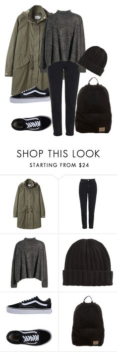 """""""26.09.2017"""" by klorikon00 on Polyvore featuring Steven Alan, Topshop, Vans and O'Neill"""