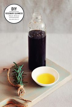 Rosemary-Guinness Beer Rinse for Hair | HelloNatural.co