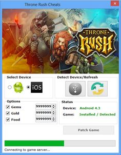 Here is what you searched - Throne rush hack cheats. The 2017 version of Throne rush hack cheats finally working.