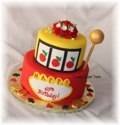 slot machine cake by Diane's Sweet Treats - (Diane Burke), via Flickr