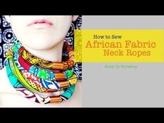Fashion DIY African Necklace Neck Ropes - YouTube