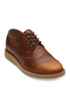 123ced9c070 Toms Men s Pull Up Leather Men s Brogues - Brown - 11.5M