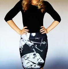 First look: Her Universe's Millennium Falcon skirt
