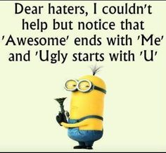 "These ""Top Minion Quotes On Life – Humor Memes & Images Twisted"" are so funny and hilarious.So scroll down and keep reading these ""Top Minion Quotes On Life – Humor Memes & Images Twisted"" for make your day more happy and more hilarious. Funny Minion Pictures, Funny Minion Memes, Crazy Funny Memes, Really Funny Memes, Funny Texts, Funny Life, Minions Fans, Minions Minions, Hilarious Stuff"