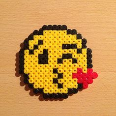 Emoticon hama beads by  hamarol_