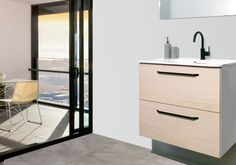 Randalco: affordable, modern design for your bathroom. We have more than 25 years of experience in the bathroom furniture sector, providing affordable, high-quality products with the best design, to fit everyone s needs. Minimalist Bathroom Furniture, Home Decor Trends 2018, Double Sink Vanity, Linen Cabinet, Interior Decorating, Interior Design, Amazing Bathrooms, Bathroom Inspiration, Vanities