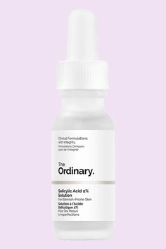 Shop The Ordinary's Salicylic Acid Solution at Sephora. A two percent salicylic acid treatment solution for blemish-prone skin. Oily Skin Care, Skin Care Tips, The Ordinary Salicylic Acid, Glowing Skin Diet, Congested Skin, The Ordinary Skincare, Face Mapping, Acne Causes, Scar Treatment