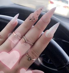 nail shapes edge Tips in 2020 Stiletto Nail Art, Cute Acrylic Nails, Acrylic Nail Designs, Nail Art Designs, Nail Nail, Nail Glue, Coffin Nails, Perfect Nails, Gorgeous Nails