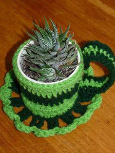 Free Crochet Tea Cup Patterns – . Tea Cups Crochet Doily Pattern - horeacce.com