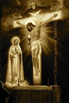 Jesus and Mary. The last vision of Sister Lucia of Fatima.