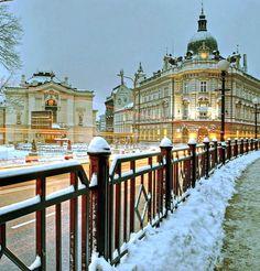 winter morning.. Bielsko - Biała, Poland | by quapouchy