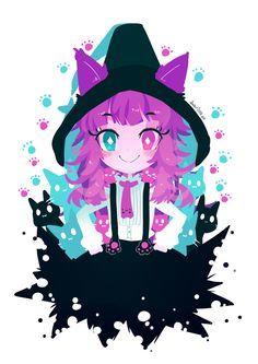 Anime Chibi, Chibi Cat, Anime Girl Neko, Anime Neko, Kawaii Drawings, Cute Drawings, Gato Origami, Lolis Neko, Character Art