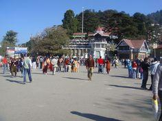 Shimla The Mall