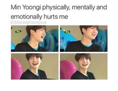 To the ones who's bias is min yoongi!