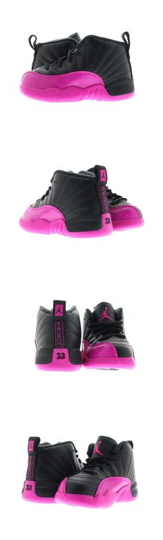 d70398a455f0c5 Baby Shoes 147285  Infant (Td) Air Jordan 12 Retro Black Deadly Pink 819666- 026 -  BUY IT NOW ONLY   80 on eBay!