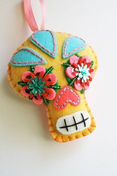 felties day of the dead - Google Search