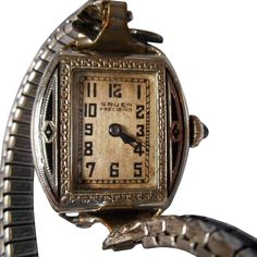 Vintage Watches Collection : Vintage Enameled Gruen Ladies Wristwatch - Watches Topia - Watches: Best Lists, Trends & the Latest Styles Old Watches, Vintage Watches, Pocket Watches, Clock Shop, Antique Stores, Jewelry Watches, Vintage Jewelry, Enamel, Jewels