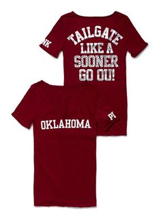VS Pink + OU Sooners = LOVE IT!!