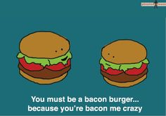 Pick up lines from food. So funny!