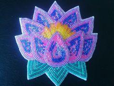 Ojibwe Beadwork Patterns | Beaded... Barrettes, hair ties.and pins