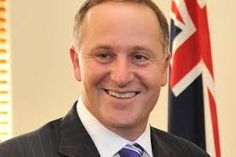 Pictured above is John Key. John Key is the current leader of Zealand. He is the prime minister he has been the leader since November 19 2008. He is the 38th prime minister of New Zealand. He was born in Auckland,New Zealand on August 9th 1961. In july of  2008, John Key was added to the New Zealand National Business Review  Rich List for the first time Key had an estimated wealth of NZ$50 million in 2008. John Key is the wealthiest New Zealand Member of Parliament.