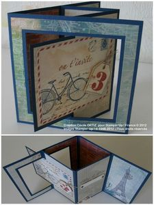 Check out these fun pop-up cards! Flip Cards, Fun Fold Cards, Folded Cards, Cool Cards, Joy Fold Card, Swing Card, Interactive Cards, Shaped Cards, Card Making Techniques
