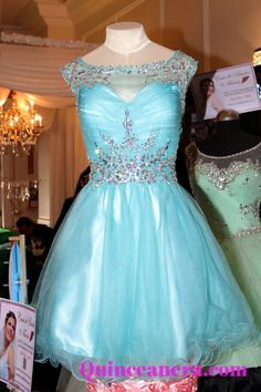 Perfect blue dress for your damas!: http://www.quinceanera.com/quinceanera_dresses/?utm_source=pinterest&utm_medium=category-landing-page&utm_campaign=010115-category-landing-page-quinceanera-dresses