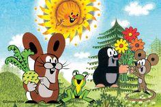#zdnek #miler #illustration La Petite Taupe, Gaston, Mole, Cool Pictures, Diy And Crafts, Mandala, Snoopy, Illustration, Anime