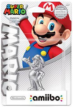 Amiibo - Super Mario Collection Figur Silver Mario
