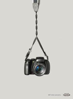 재미있는 광고, 360 파노라마 기능을 강조한 후지필름 광고^^