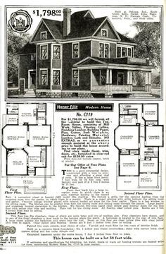 sears catalog original catalog page with bay window order a house