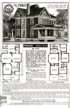 Sears Catalog original catalog page with bay window