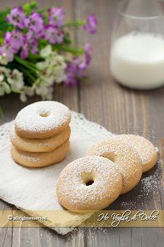 Biscotti alla panna, ricetta per la colazione