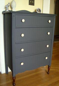 Dresser in Queenstown Gray | General Finishes Design Center