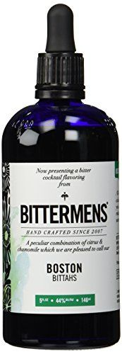 Bittermens, Boston Bittahs, Cocktail Bitters 5 oz Bittermens