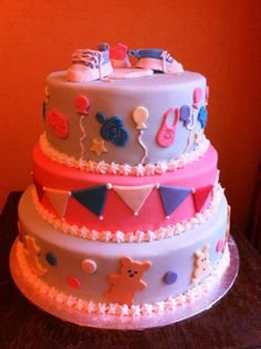 Cake for baptism