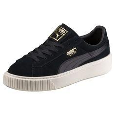 27dc103e5c18 PUMA Women s Shoes - Basket Suede Platform Satin pour femme - Find deals  and best selling