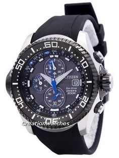 f9c13816d749 Citizen Promaster Eco Drive Aqualand Chronograph Diver s Watch BJ2110-01E  BJ2110-01 BJ2110 Citizen