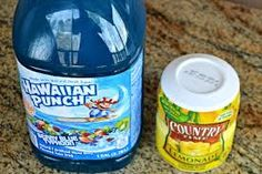 blue punch - Google Search