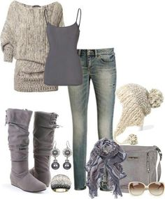 #xmas #gifts #ugg ♥ I love everything about this outfit but ✖️out the beanie/hat . I live in hawaii . We don't need that .