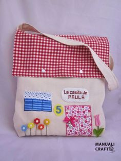 bolsa/casita Manualicraft - Amigurumi, scrap y costura creativa